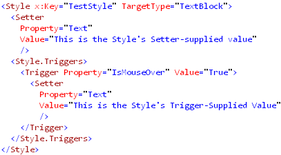Style applied to the textblock josh smith on wpf for Bulltoro watches