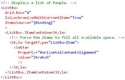 Binding to XML(ListBox)