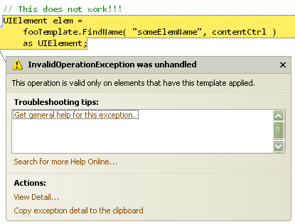 FindName with ContentControl(error)
