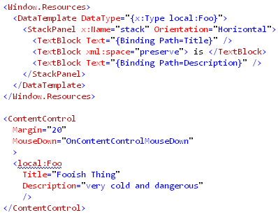 FindName with ContentControl (XAML)