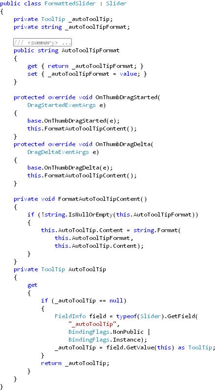 FormattedSlider(class)
