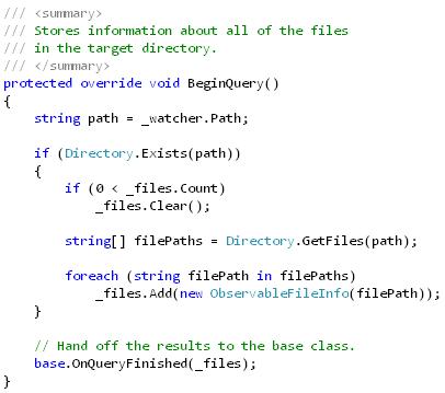 FileSysViewer (FileSystemDataProviderbeginquery)