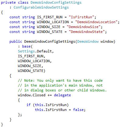 Configurable Window (step3)